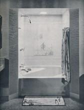 'New four foot square Neo-Angle Bath', 1935. Artist: Drix Duryea.