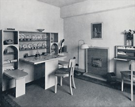 'Rowley Gallery of Decorative Art Ltd - Combined dining-living-room open', 1939. Artist: Unknown.