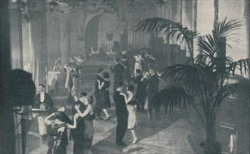 'Dance, Song and Supper in Underground Halls of Pleasure', c1935. Artist: Sport & General.