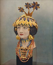 'Jewels of a Lady of the Court in the Great Days of Ur', c1935. Artist: Joint Expedition to Ur.