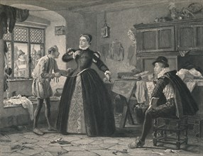 'The Lady's Tailor (King Henry IV - Second Part)', c1870. Artist: Charles W Sharpe.