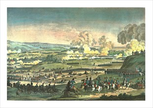 Battle near Jena, 14 October 1806, (c1850). Artist: Edme Bovinet.