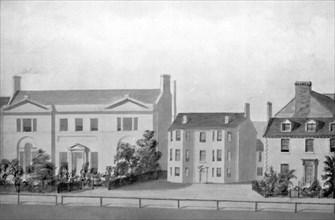 'Marlborough House, Old Steine, About 1800', (1939). Artist: Unknown.