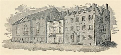 'The Castle Tavern, Brighton, 1814', (1939). Artist: Unknown.