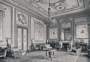 'The Centre Room, Buckingham Palace, North-West Corner', 1939. Artist: Unknown.