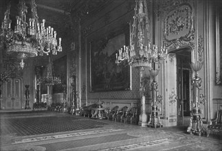 'The Grand Reception Room, Windsor Castle, 1912', (1939). Artist: Unknown.