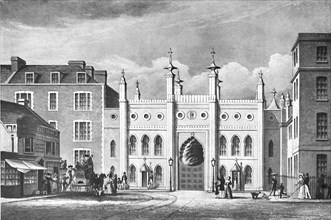 'The South Gate, 1832', (1939). Artist: Unknown.