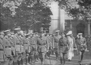 'Proceeding To The Investiture, 25th August 1915', (1939). Artist: Unknown.