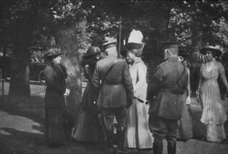 'H.M. Queen Mary after the Investiture of the 25th August 1915', (1939). Artist: Unknown.