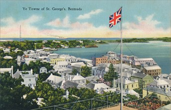 'Ye Towne of St. George's, Bermuda', early 20th century. Creator: Unknown.