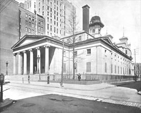 United States Mint, Philadelphia, USA, c1900.  Creator: Unknown.