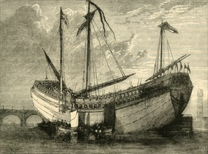 'The Chinese Junk', (1881). Creator: Unknown.