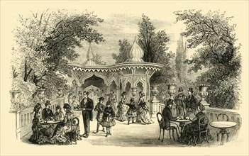 'View in the Surrey Gardens', (c1878). Creator: Unknown.
