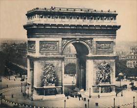 'Paris. - L'Arc De Triomphe. - LL, c1910. Creator: Unknown.