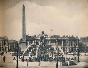 'Paris. - La Place De La Concorde. - LL, c1910. Creator: Unknown.
