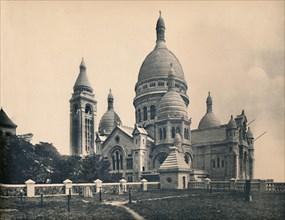 'Paris. -  La Basilique Du Sacré - Coeur, c1910. Creator: Unknown.