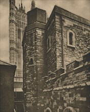 'The Jewel Tower, Westminster, Surviving from Very Early London', c1935. Creator: Joel.