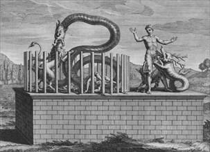 'Idoles de Campeche et de Iucatan', 1723.  Creator: Bernard Picart.