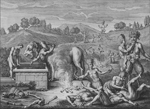 'Idoles de Tabasco', 1723.  Creator: Bernard Picart.