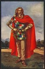 'A Celtic Chieftain in Civil Dress', 1924. Creator: Herbert Norris.