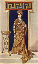 'An Empress of the Second and Third Century, A.D.', 1924. Creator: Herbert Norris.