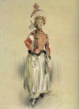 'Mlle. Bresil - Role de Mlle. Senedor. - La Montansier', 1904. Creator: Maurice De Lambert.