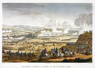 The Battle of Jena, Germany, 14th October 1806. Artist: Edme Bovinet