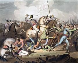 Battle of Salamanca, Spain, 21st July 1812 (1819). Artist: T Fielding