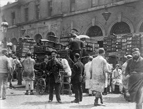 Billingsgate Market, London, 1893. Artist: Paul Martin