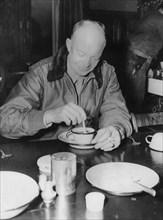 Dwight D Eisenhower, American general, 1944. Artist: Unknown