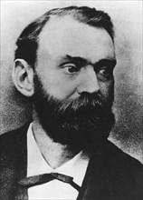 Alfred Bernhard Nobel (1833-1896), Swedish chemist and industrialist. Artist: Unknown