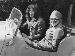 Mick Jagger and Marianne Faithfull leaving Marlborough Street Court, 1969. Artist: Unknown