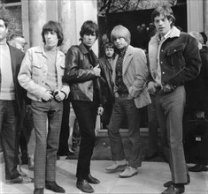 The Rolling Stones in Paris, 1960s. Artist: Unknown