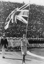 Anita Lonsbrough (b1941), British Olympic Gold Medal-winning swimmer, Tokyo, Japan, 1964. Artist: Unknown