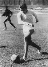 Michel Jazy (b1936), French runner, Paris, France, 1964. Artist: Unknown