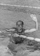 Emil Zátopek, (1922-2000), Czech athlete. Artist: Unknown