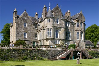 Torosay Castle and gardens, Mull, Argyll and Bute, Scotland.