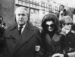 Jacqueline Onassis with Georgios Sinas in Paris, c1970s. Artist: Unknown