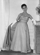 Dress by Pierre Balmain, 1962. Artist: Unknown