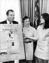 President Nixon's Birthday, 1970. Artist: Unknown