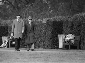 The Duke of Windsor taking a walk in Regent's Park, London, March 1965. Artist: Unknown