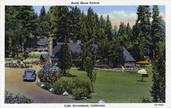 North Shore Tavern, Lake Arrowhead, California, USA, 1940. Artist: Unknown