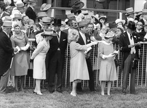 Royals at the Derby, Epsom, Surrey, England, 1971. Artist: Unknown