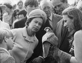 The Royal family attend a game fair at the home of the Duke of Wellington, July 1974. Artist: Unknown