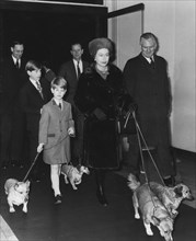 The Royal Family leave for Sandringham from Liverpool Street Station, 29th December 1971. Artist: Unknown