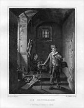 'Savoyards', c1833. Artist: Edouard Schuler