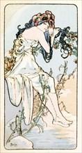 'Summer', 1900. Artist: Alphonse Mucha