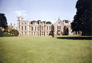 South aspect of Newstead Abbey, Nottinghamshire, 1965. Artist: George L Roberts