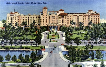 Hollywood Beach Hotel, Hollywood, Florida, USA, 1940. Artist: Unknown