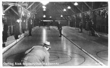 Curling rink Seigniory Club, Montebello, Quebec, Canada. Artist: Unknown